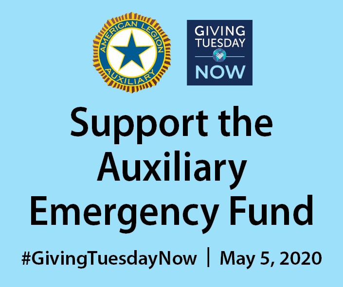 Help carry on the American Legion Auxiliary's legacy of Service Not Self on #GivingTuesdayNow