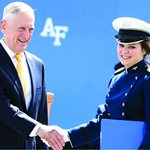 Past ALA Scholarship Recipient Graduates from U.S. Air Force Academy