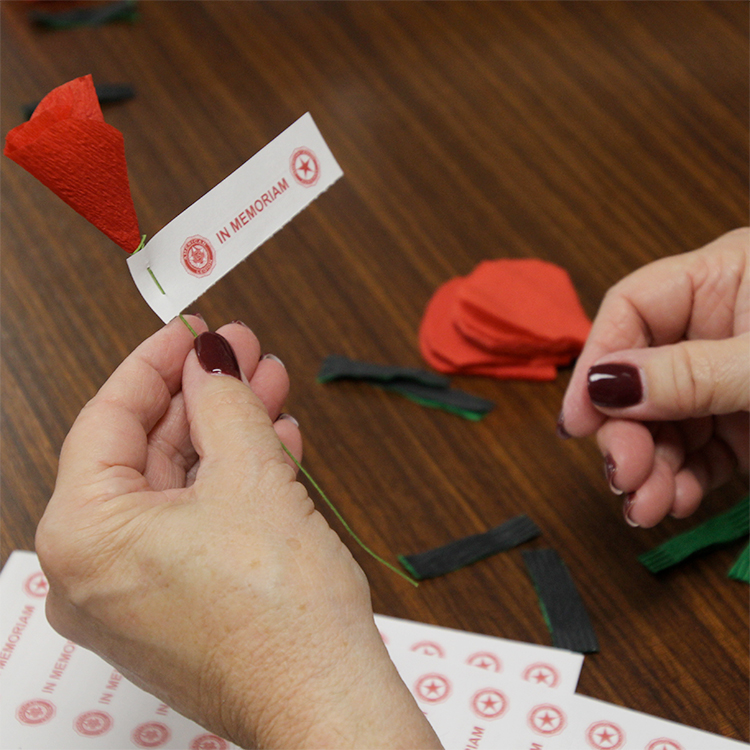American Legion Family encourages creativity for poppy distribution days