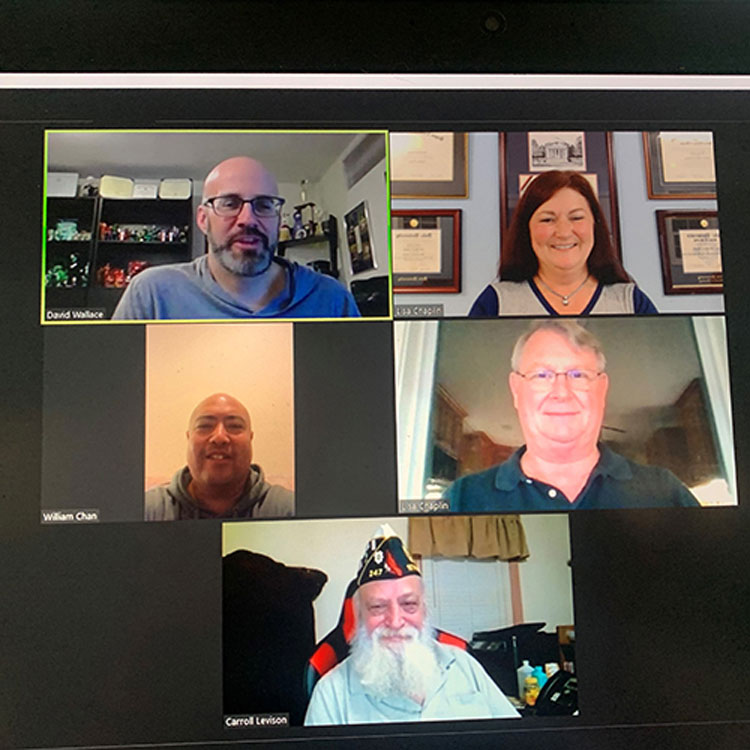 Department of Virginia virtual meeting
