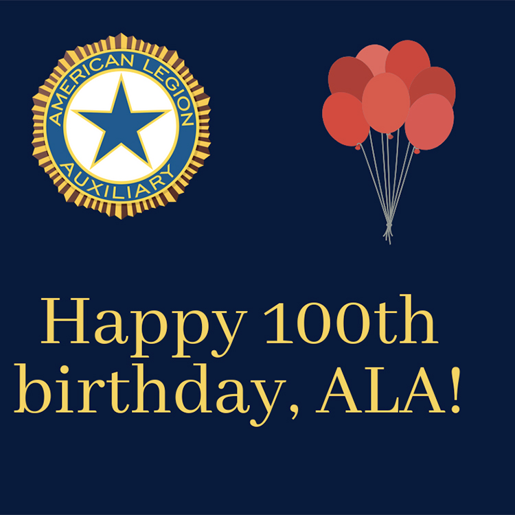Wish the American Legion Auxiliary a happy birthday!