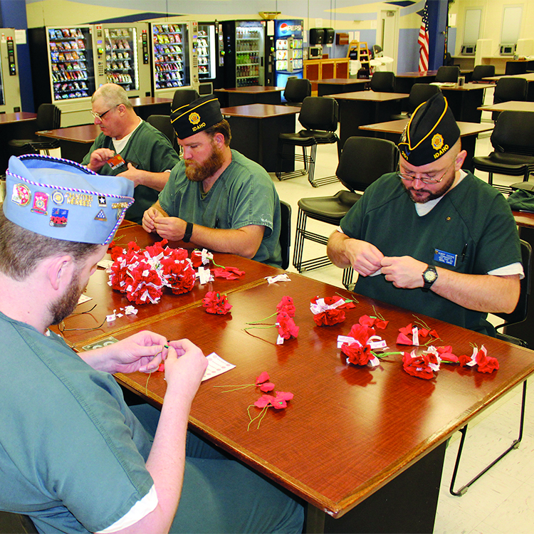 Kindness flows from the hands of ALA's poppy makers