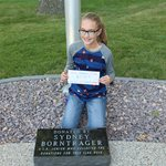 ALA Junior Member Collects Donations for Flag Pole