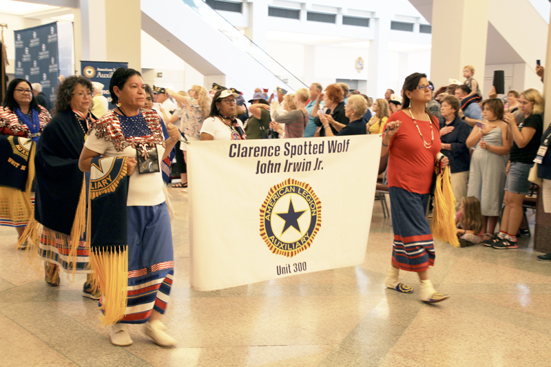 ALA unit blends its Native American culture with efforts to honor veterans
